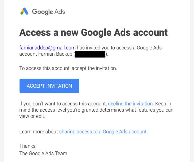 راهنمای فعالسازی اکانت اختصاصی گوگل ادز